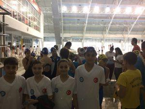 15 Temmuz Demokrasiye Atılan Kulaçlar Yüzme Yarışması 3