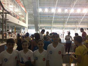 15 Temmuz Demokrasiye Atılan Kulaçlar Yüzme Yarışması 4