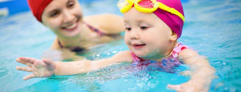 Profesyonel Yüzücü Olarak Yetişecek Bebekler