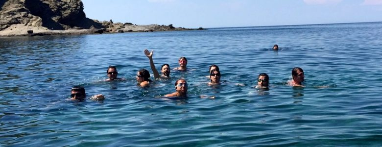 Denizde Yüzme Dersi