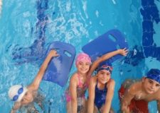 Çocuk Yüzme Dersi Video